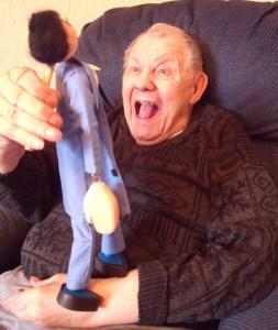 puppeteer making fun
